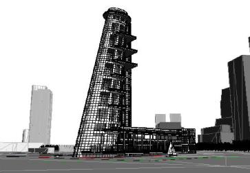 New York Tower Museum- view 1